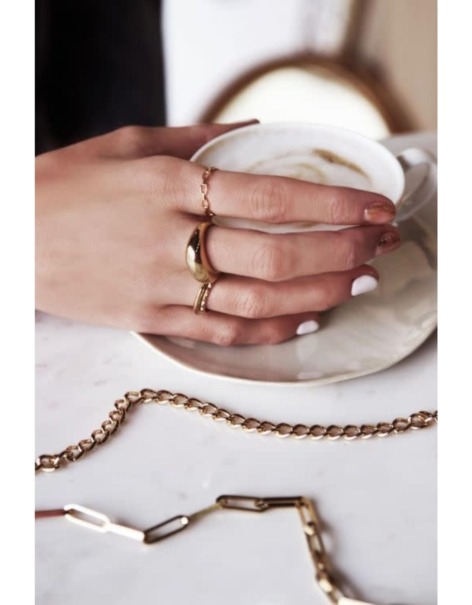 My Jewellery My Jewellery ring met schakels