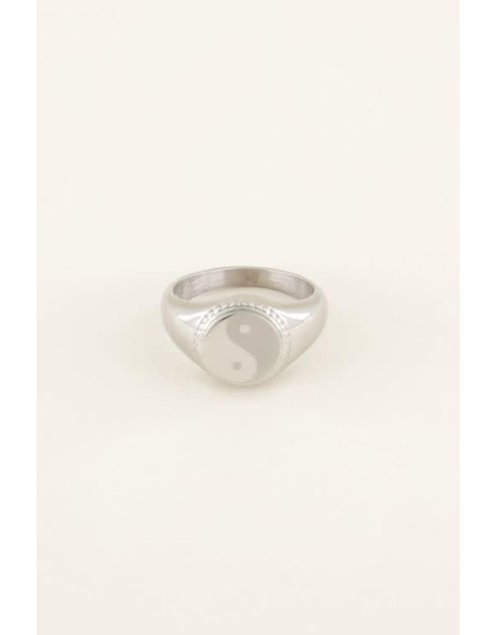 My Jewellery My Jewellery zegelring yin en yang