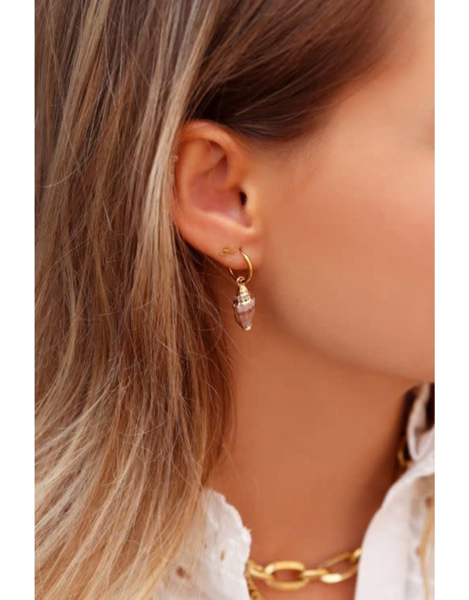 My Jewellery My Jewellery oorbellen schelp