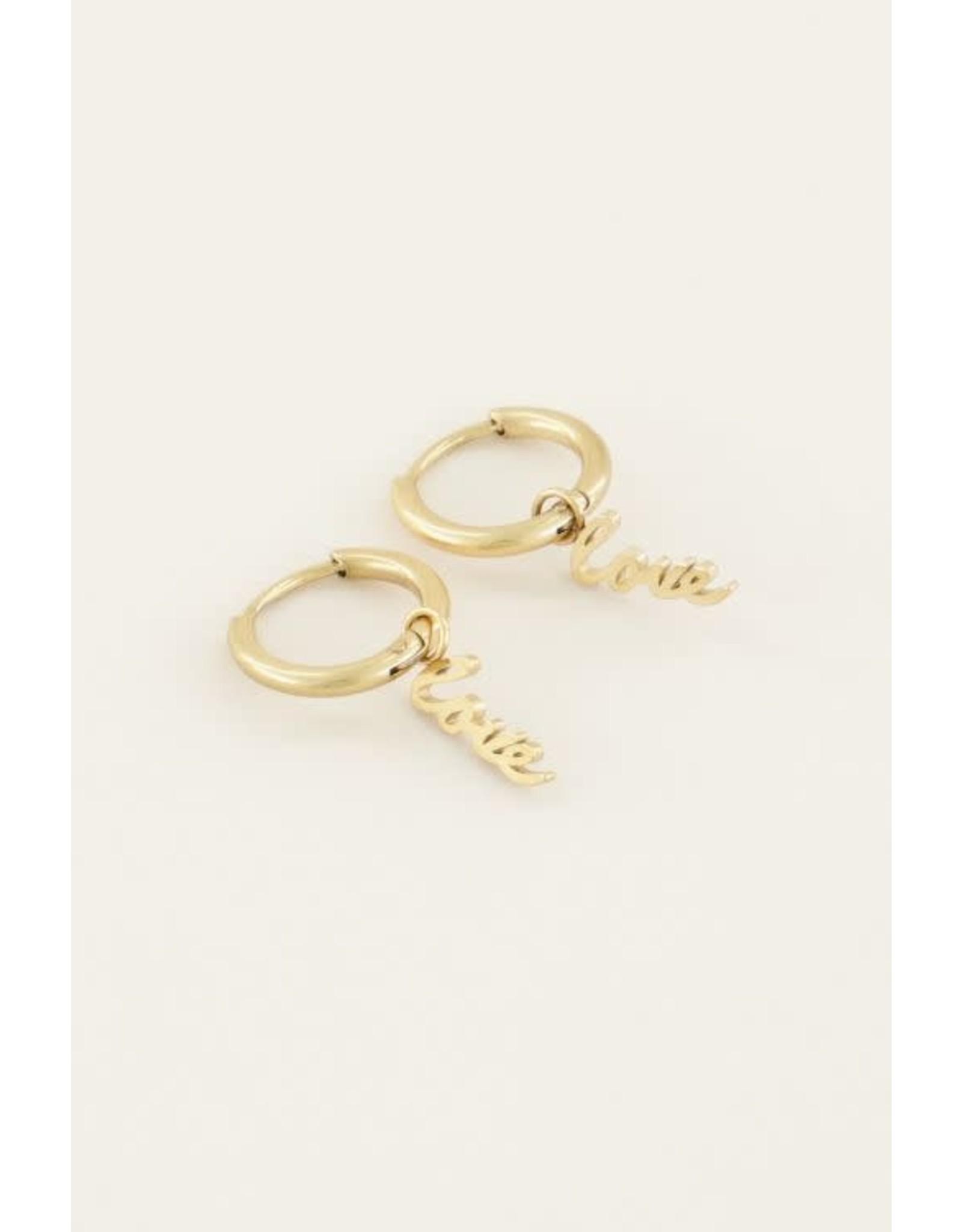 My Jewellery My Jewellery oorbellen Love