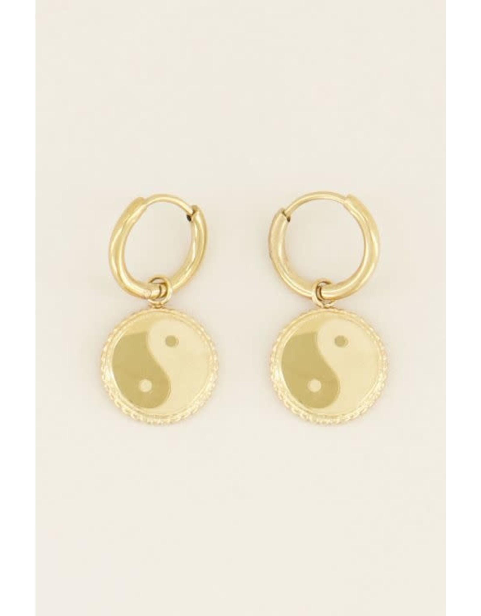 My Jewellery My Jewellery oorbellen Yin & Yang