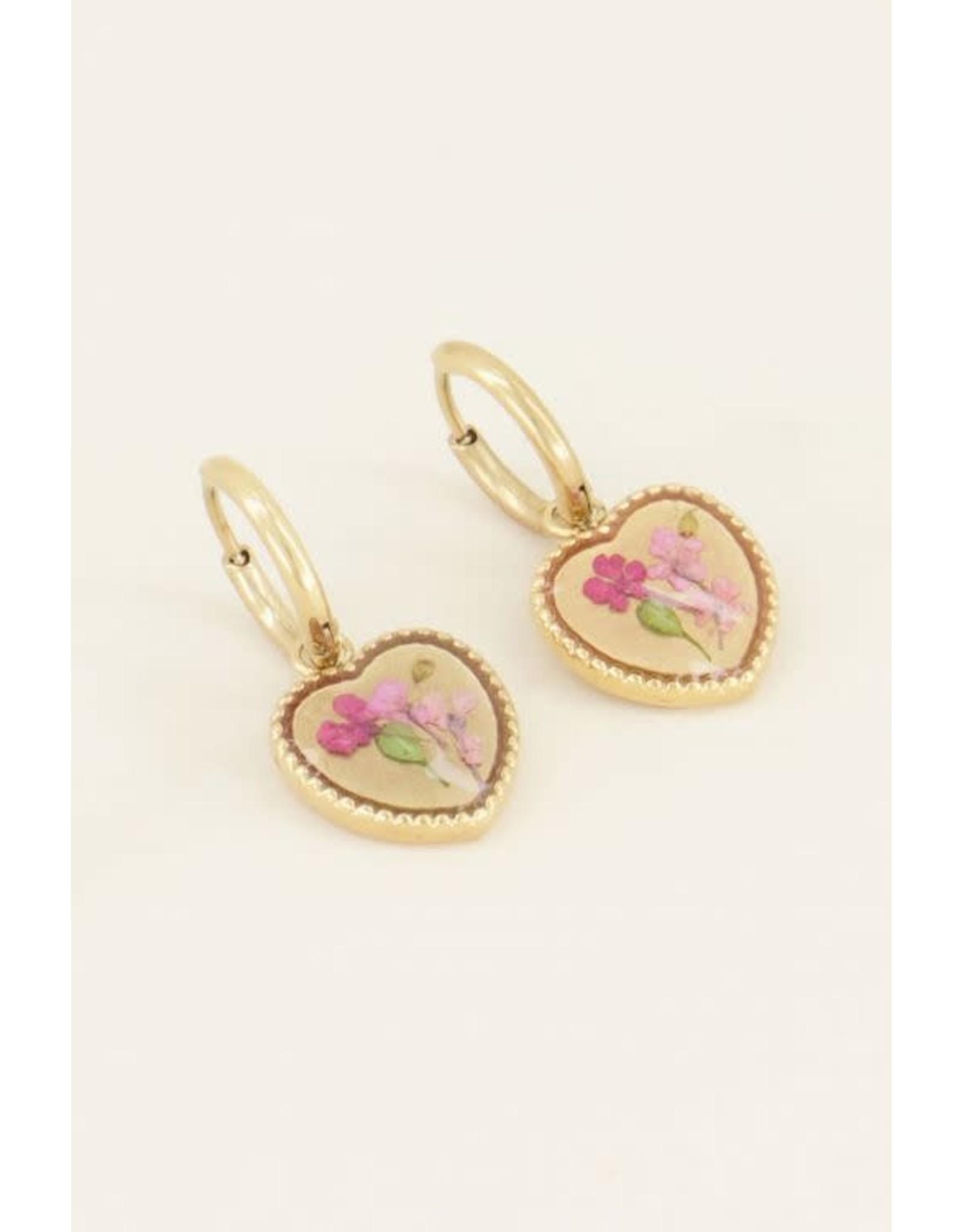 My Jewellery My Jewellery wild flower oorbellen