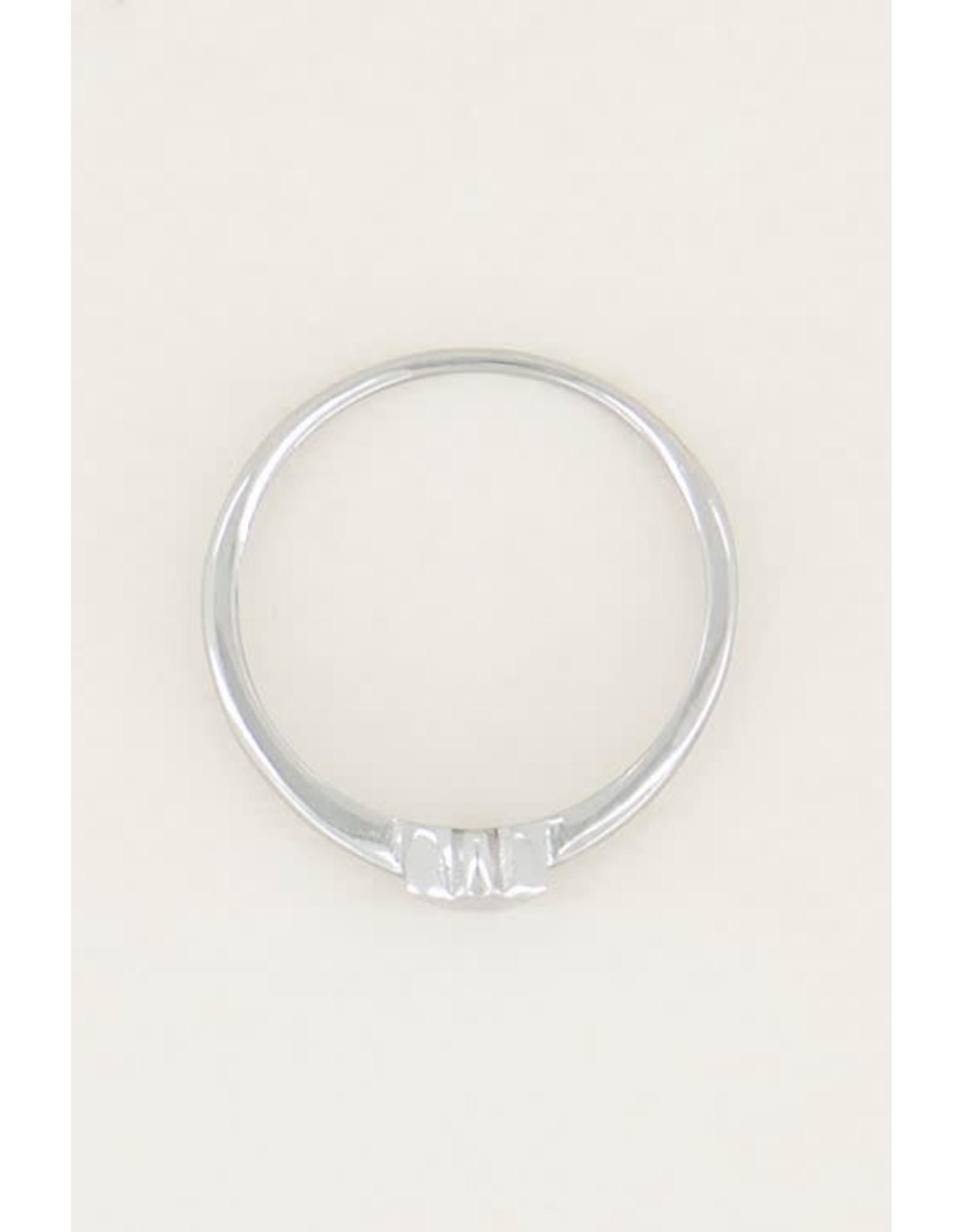 My Jewellery My Jewellery ring sterretje zilver