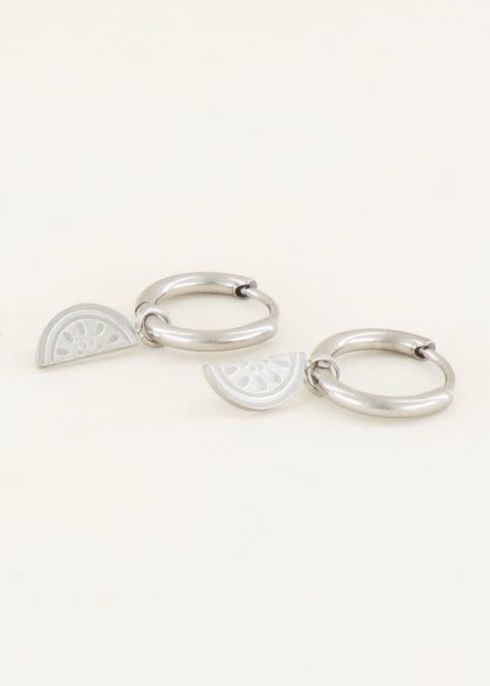 My Jewellery My Jewellery oorbellen meloentjes