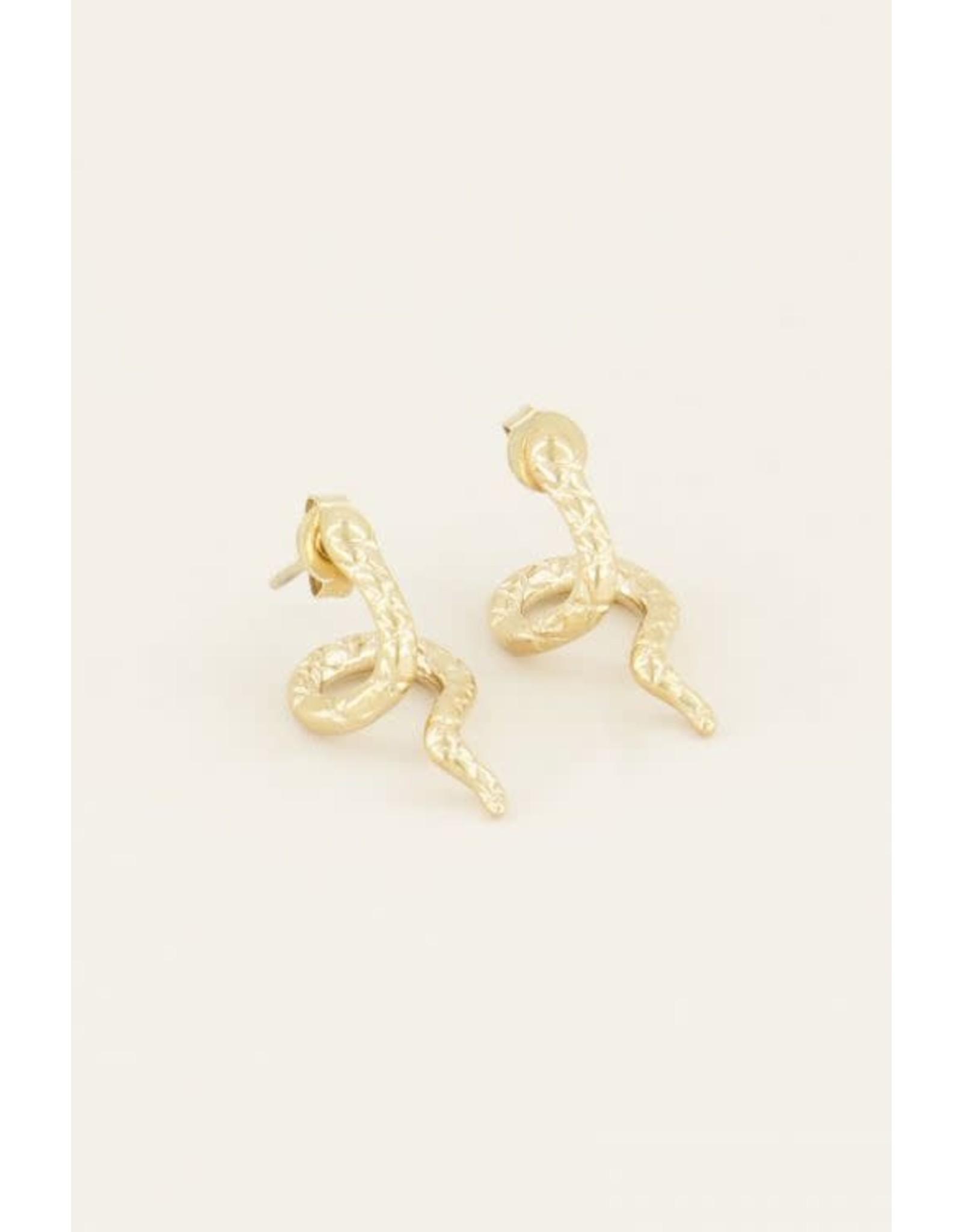 My Jewellery My Jewellery oorbellen slang