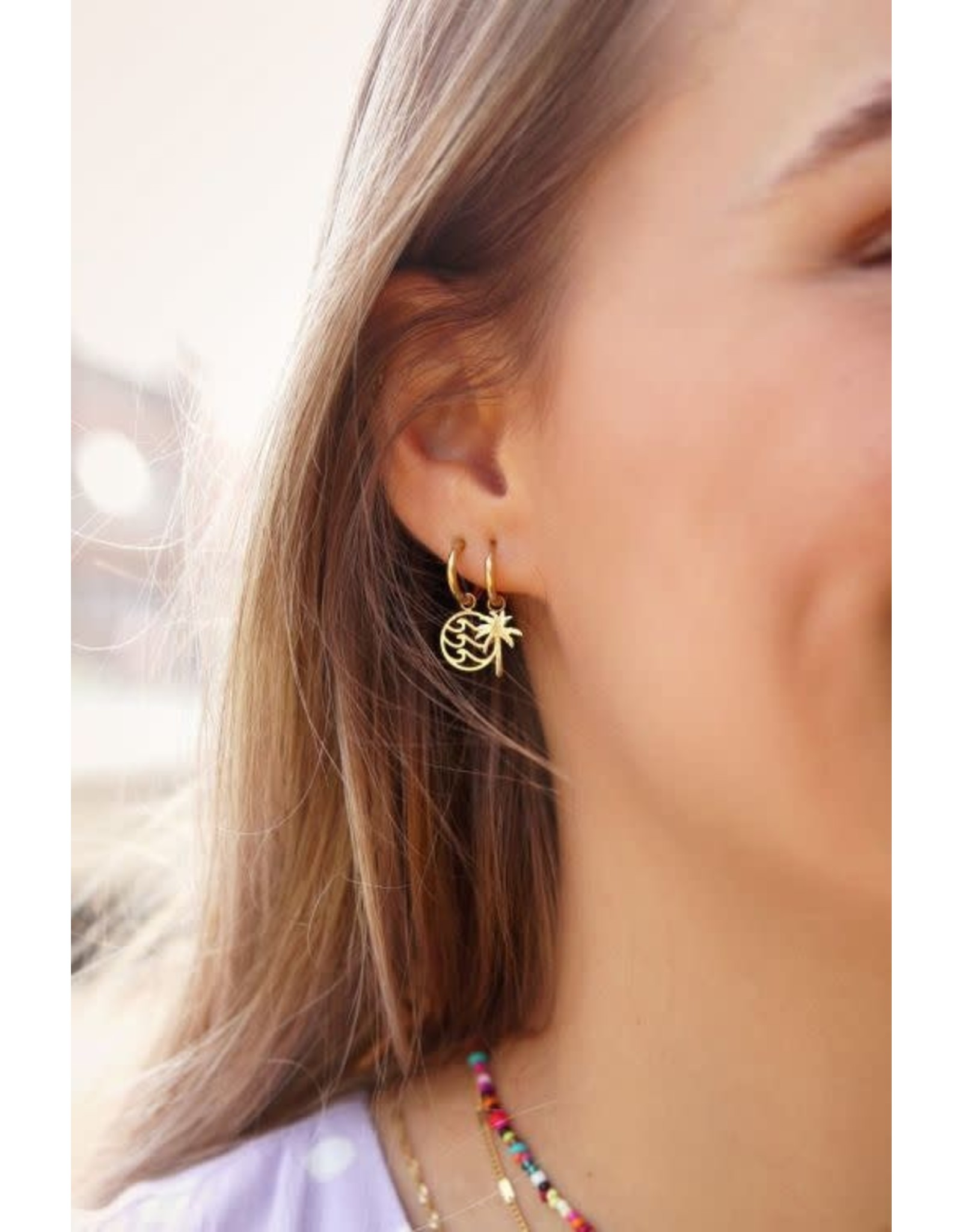 My Jewellery My Jewellery oorbel palmboom