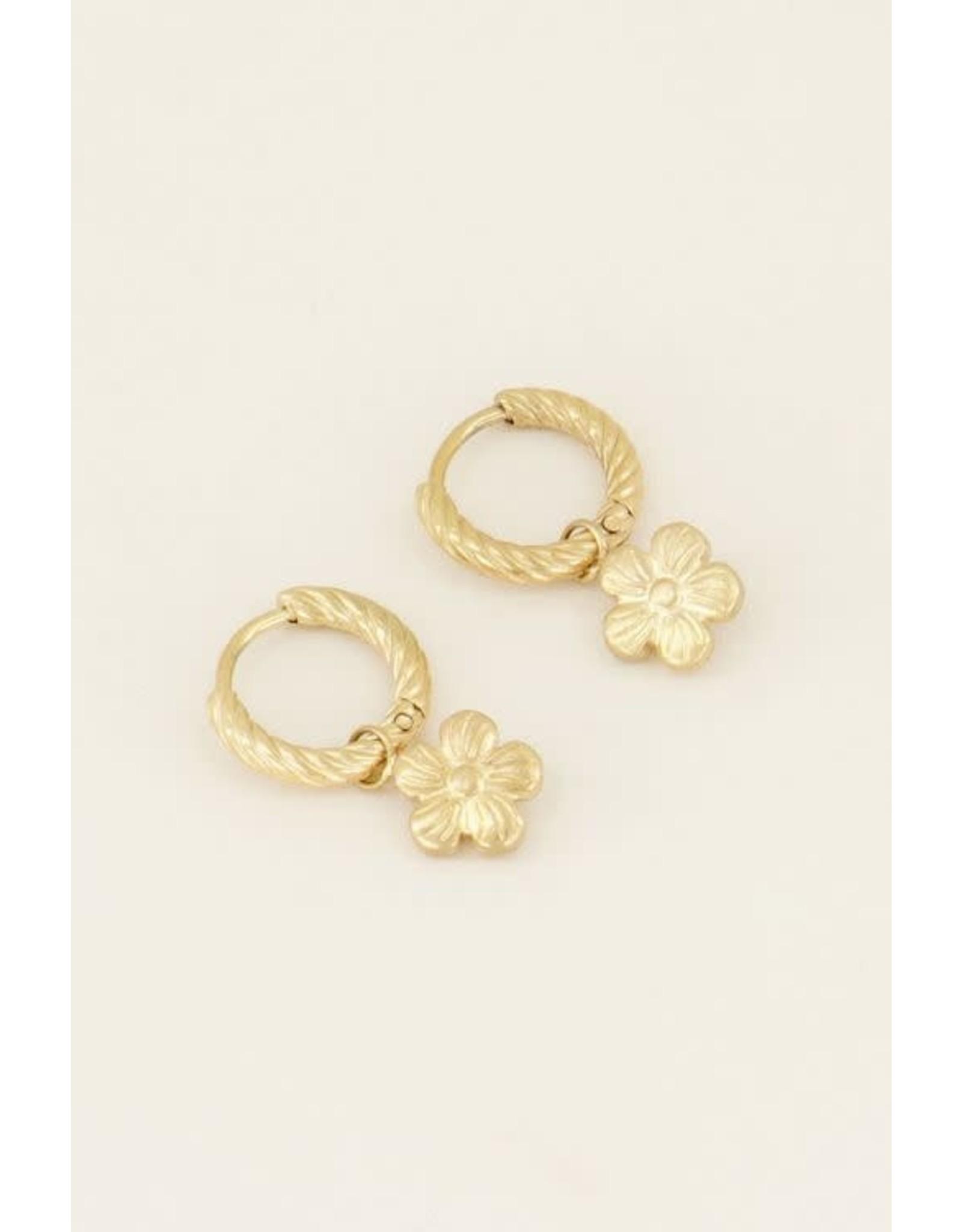 My Jewellery My Jewellery oorring Violet