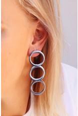 My Jewellery My Jewellery oorbellen drie rondjes