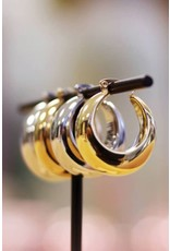 My Jewellery Medium Statement 70's Hoops