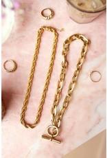 My Jewellery My Jewellery ketting gedraaide schakels