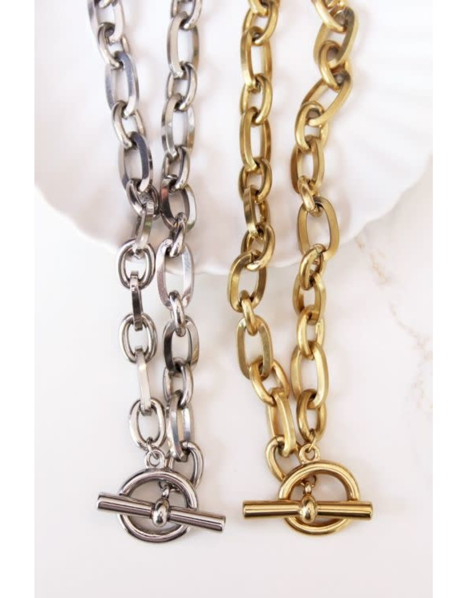 My Jewellery My Jewellery schakelketting kapittelslot