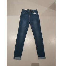 L'Avenue Stretch Jeans  - Hoog model