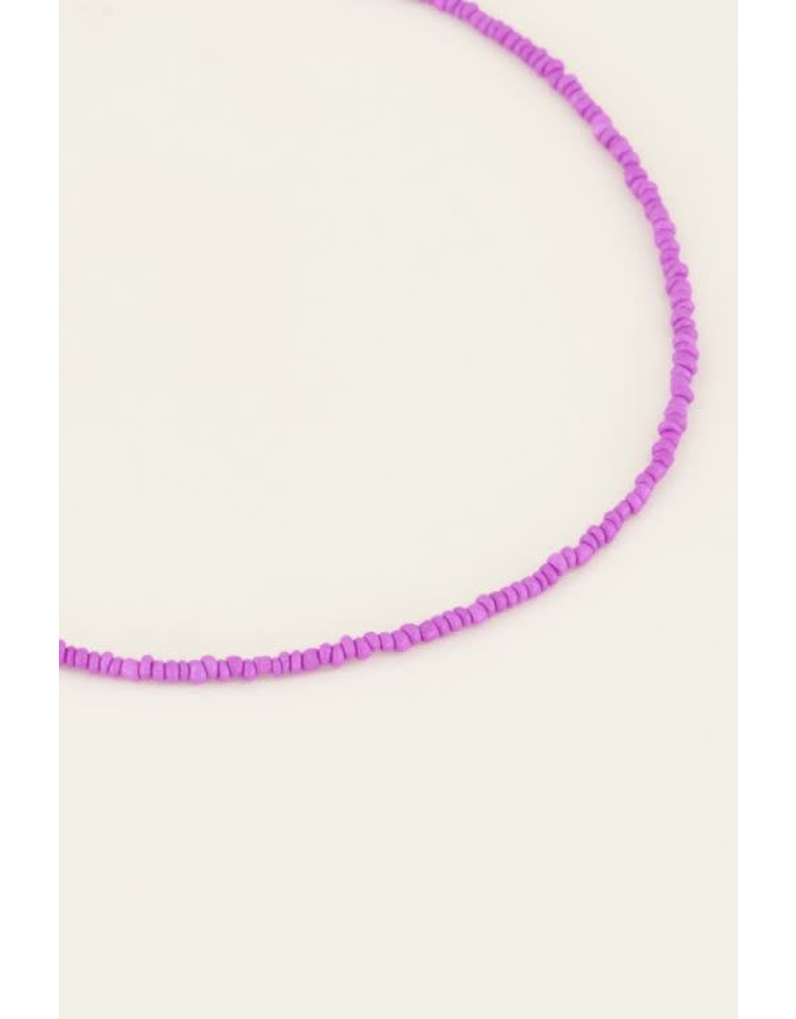My Jewellery My Jewellery moments kralen ketting paars