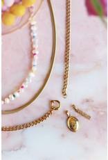 My Jewellery My Jewellery lange ketting grove schakel