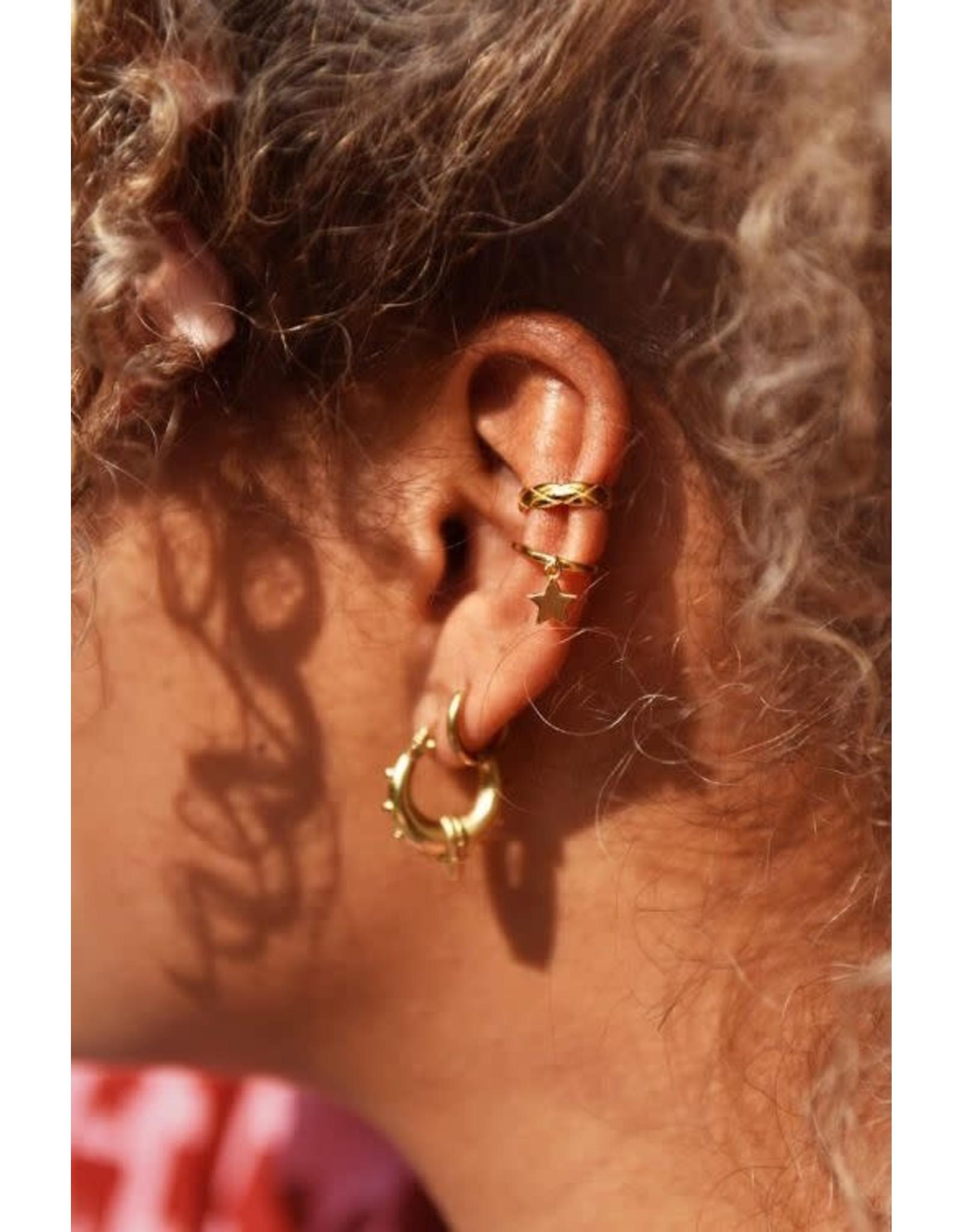 My Jewellery My Jewellery ear cuff small structuur