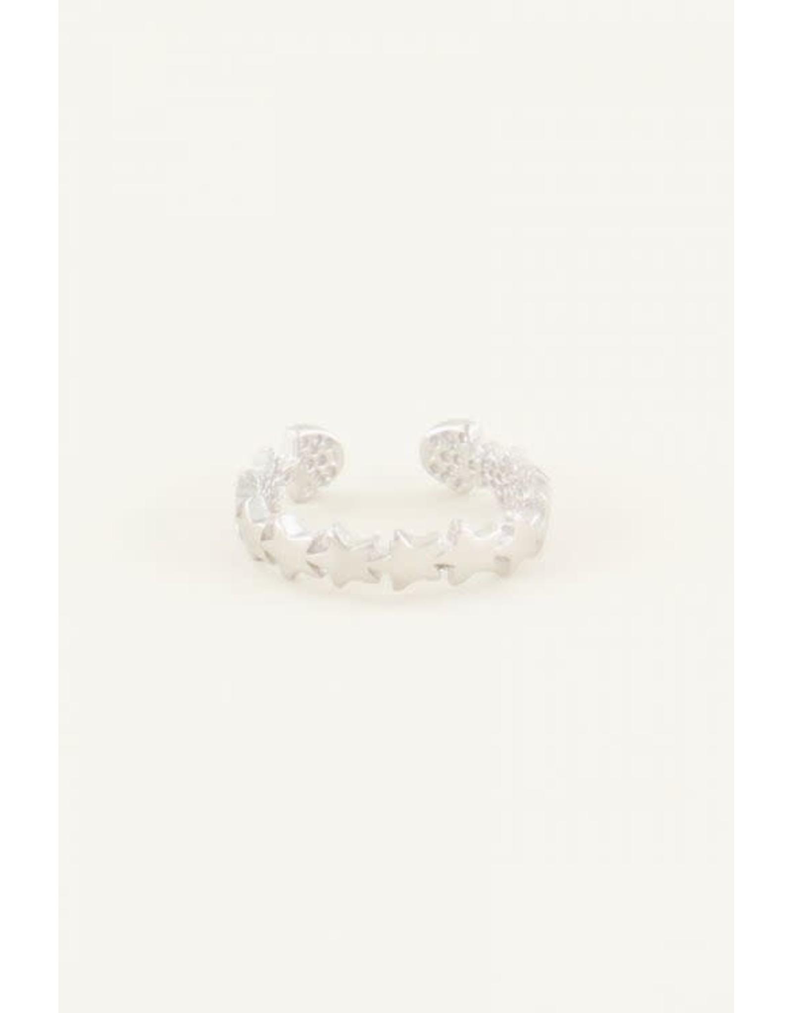 My Jewellery My Jewellery ear cuff met sterren