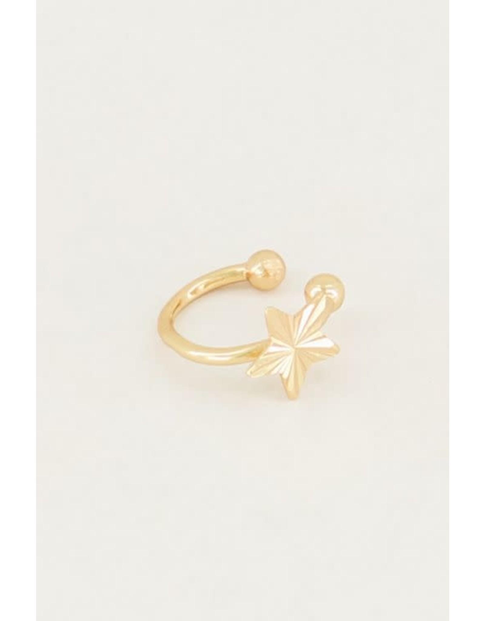 My Jewellery My Jewellery ear cuff sterretje