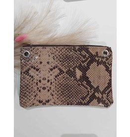 Carry 2 Care Carry 2 Care bag bruin/ slangenprint