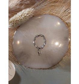 My Jewellery My Jewellery ringen Elastiek met munt