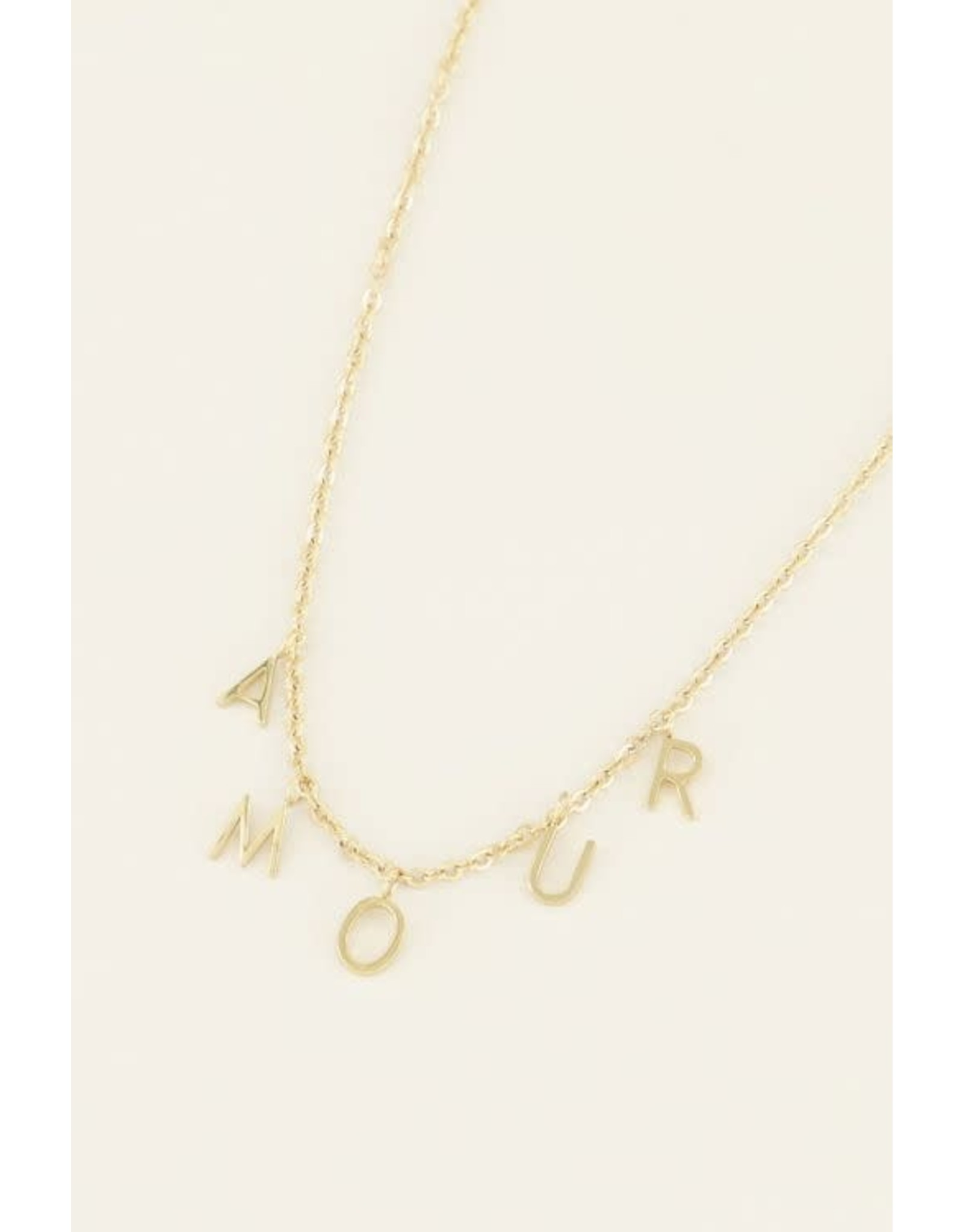 My Jewellery My Jewellery ketting amour losse letters