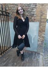 L'Avenue Zwarte jurkje maat XL