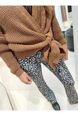 L'Avenue Soft Flair leopard bruin