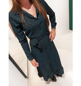 L'Avenue Maxi dress zebra maat L/XL