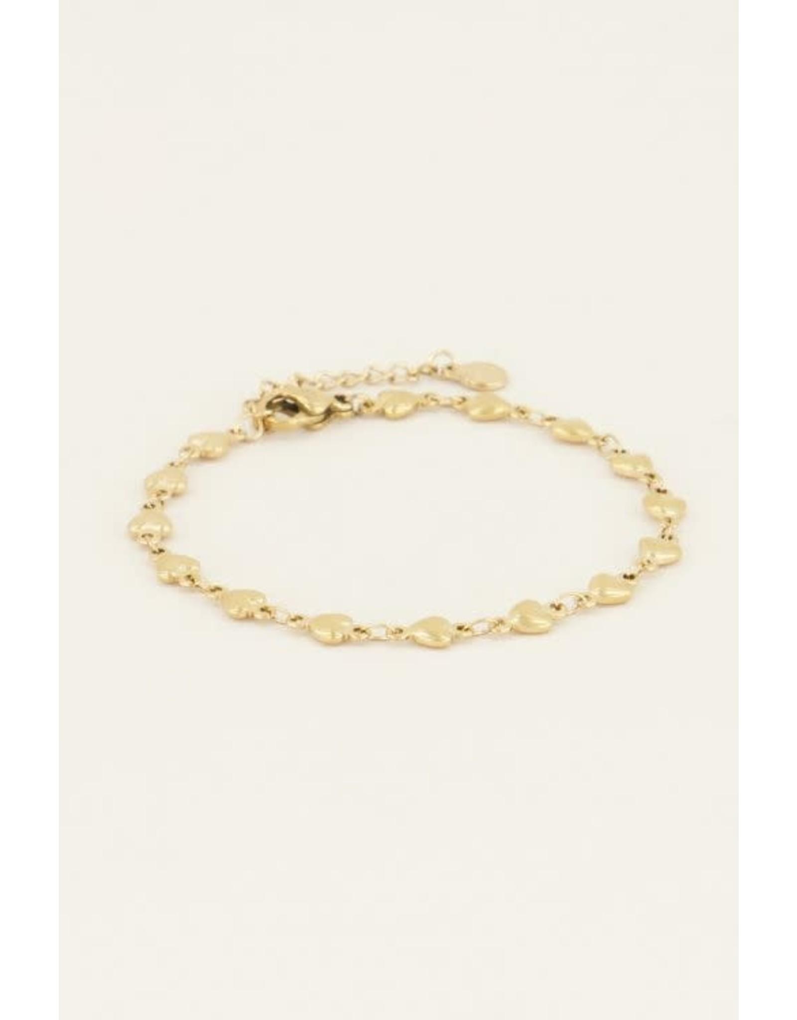 My Jewellery My Jewellery armbandje hartjes