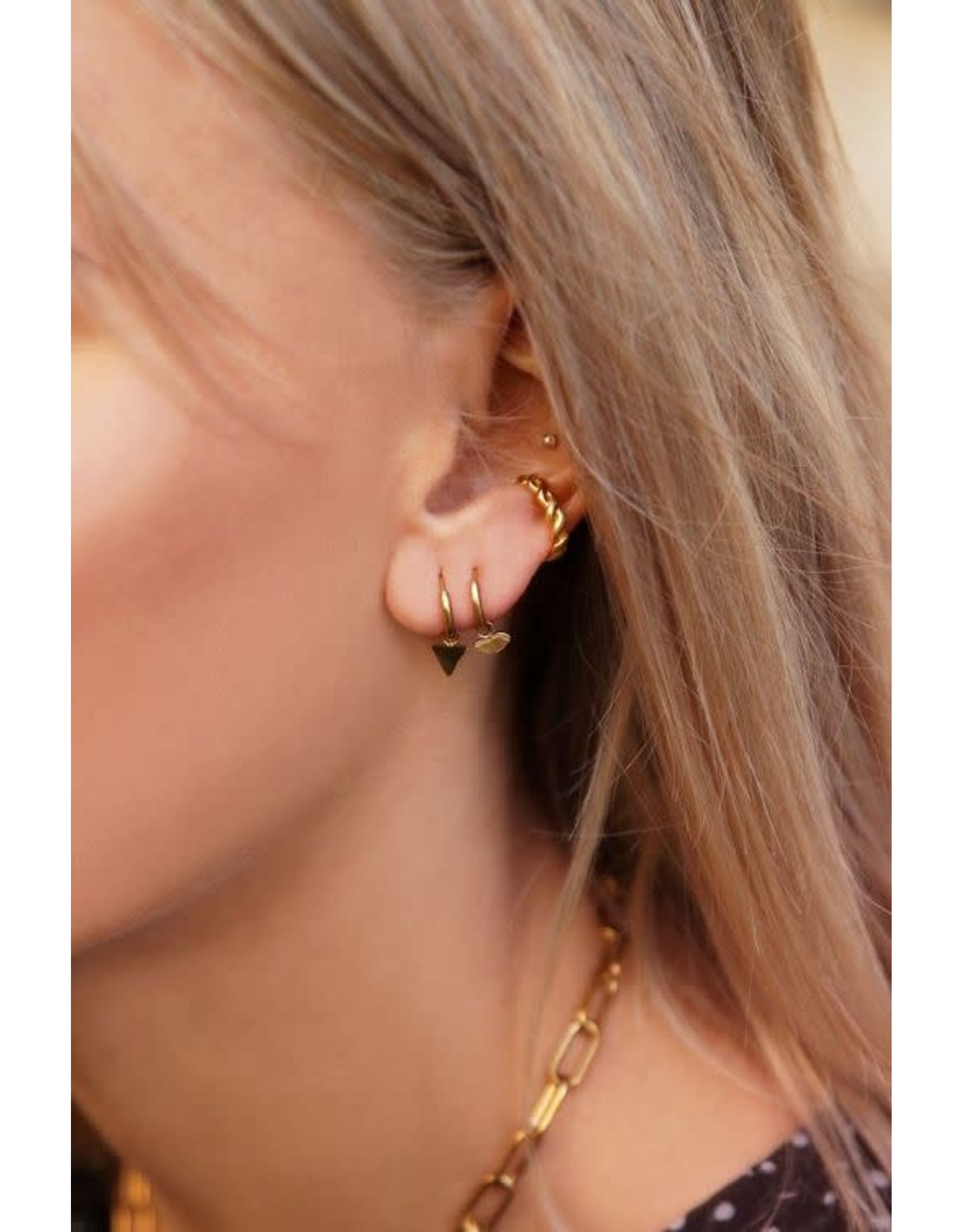 My Jewellery My Jewellery oorringen vlindervleugel