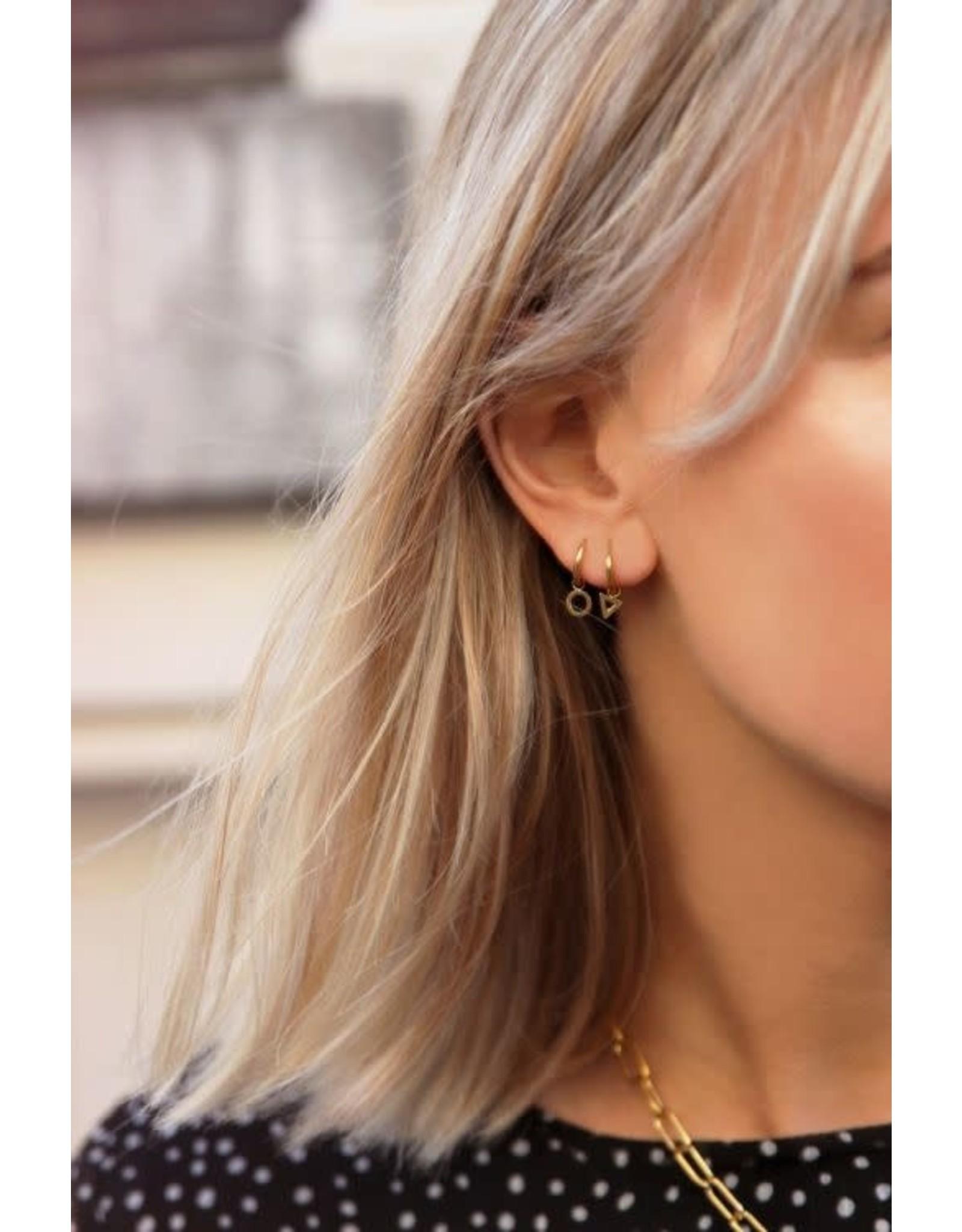 My Jewellery My Jewellery oorring open rondje