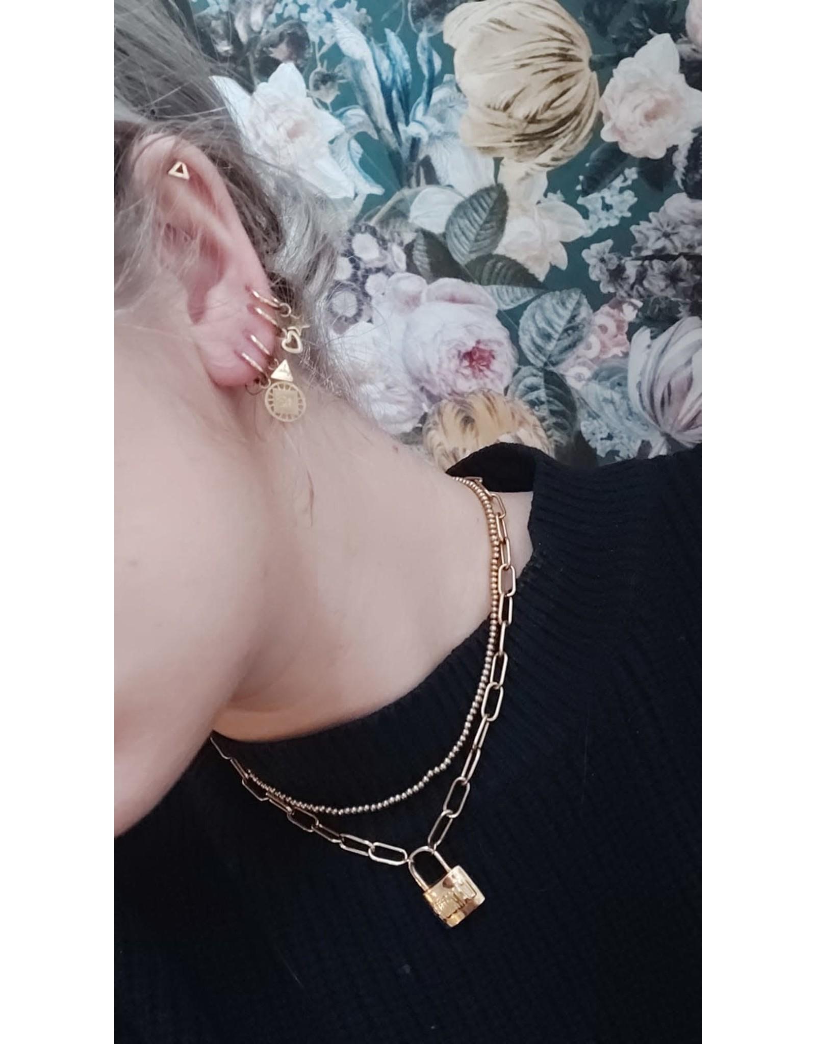 My Jewellery My Jewellery oorring driehoekje
