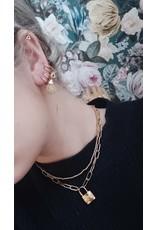 My Jewellery My Jewellery oorringen open hartje