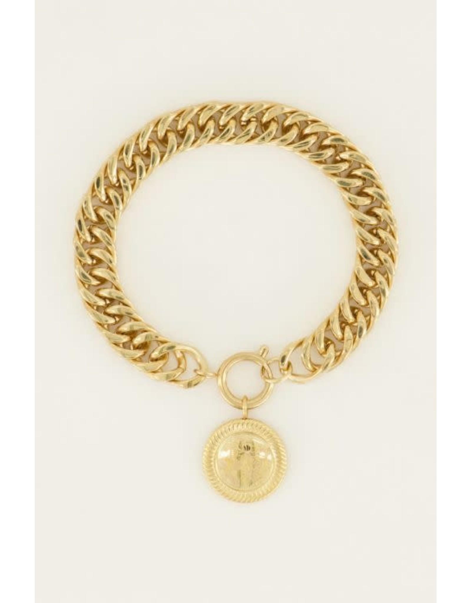My Jewellery My Jewellery schakelarmbanden munt