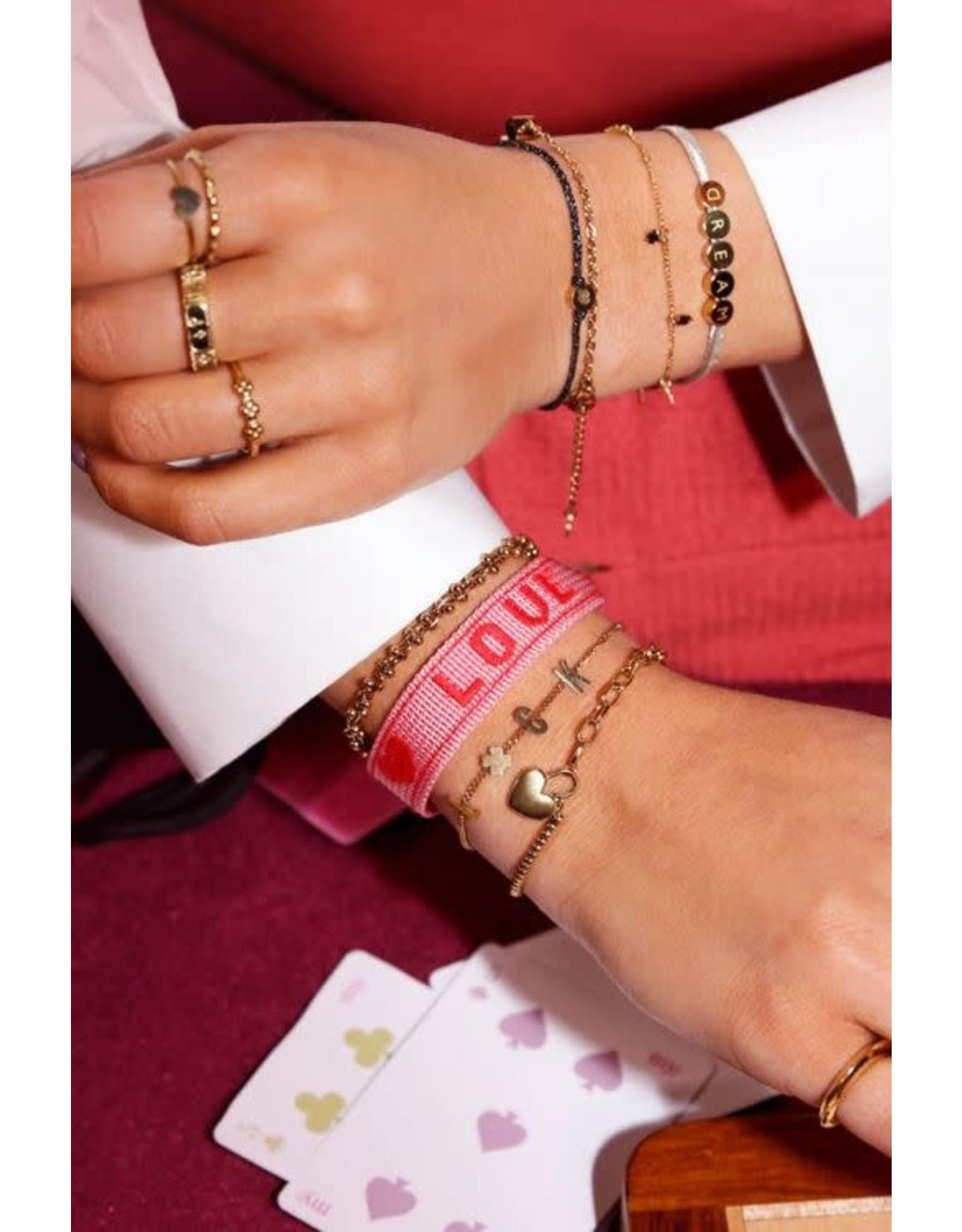 My Jewellery My Jewellery schakelarmband bolletjes