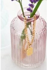 My Jewellery My Jewellery schakelketting met plaatje