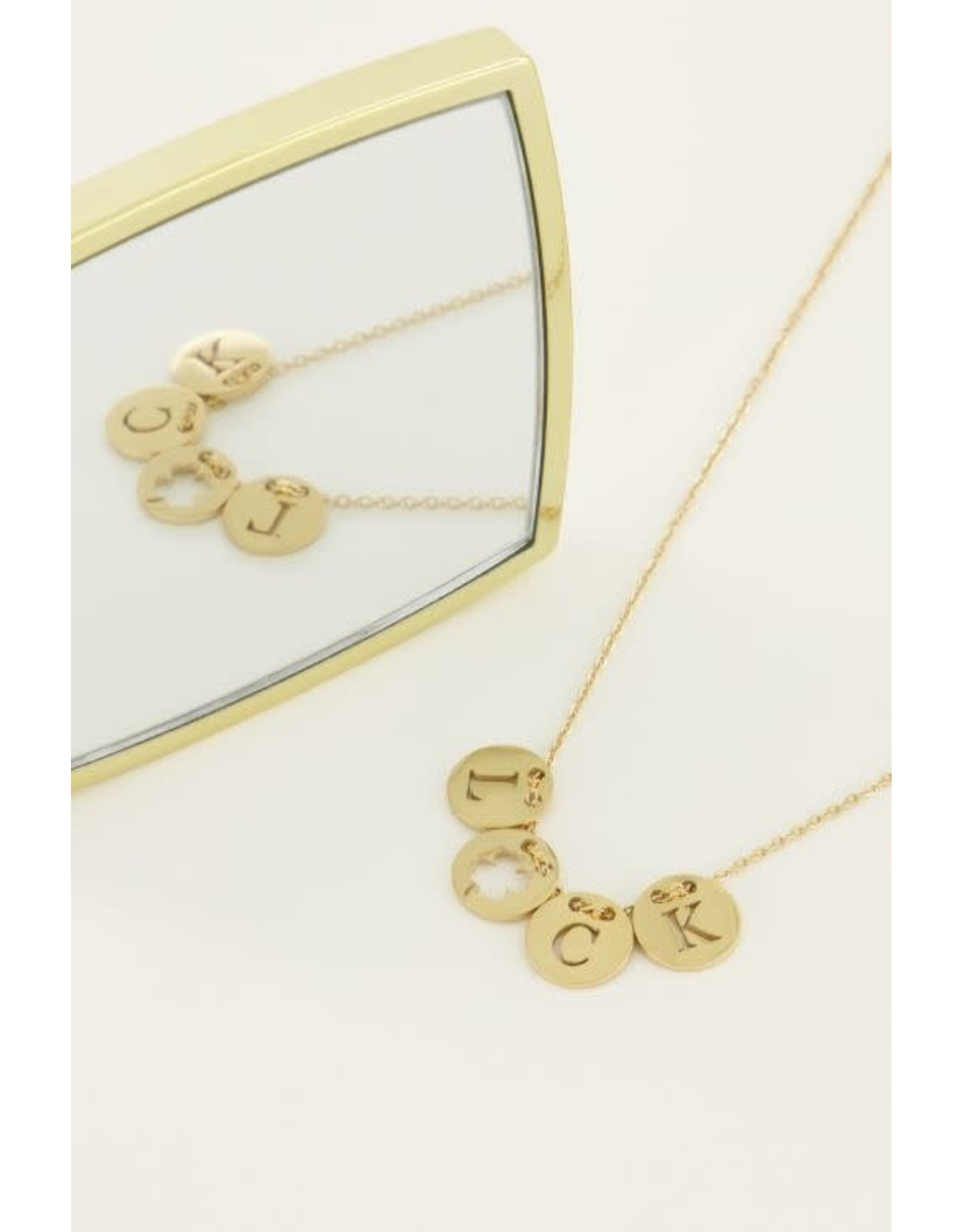 My Jewellery My Jewellery Ketting Luck rondjes