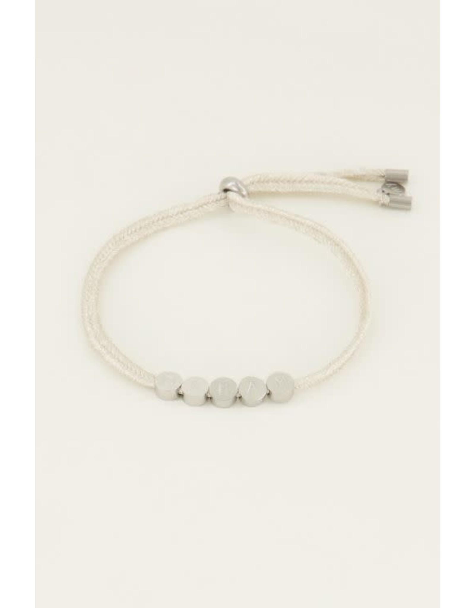 My Jewellery My Jewellery touw armband dream
