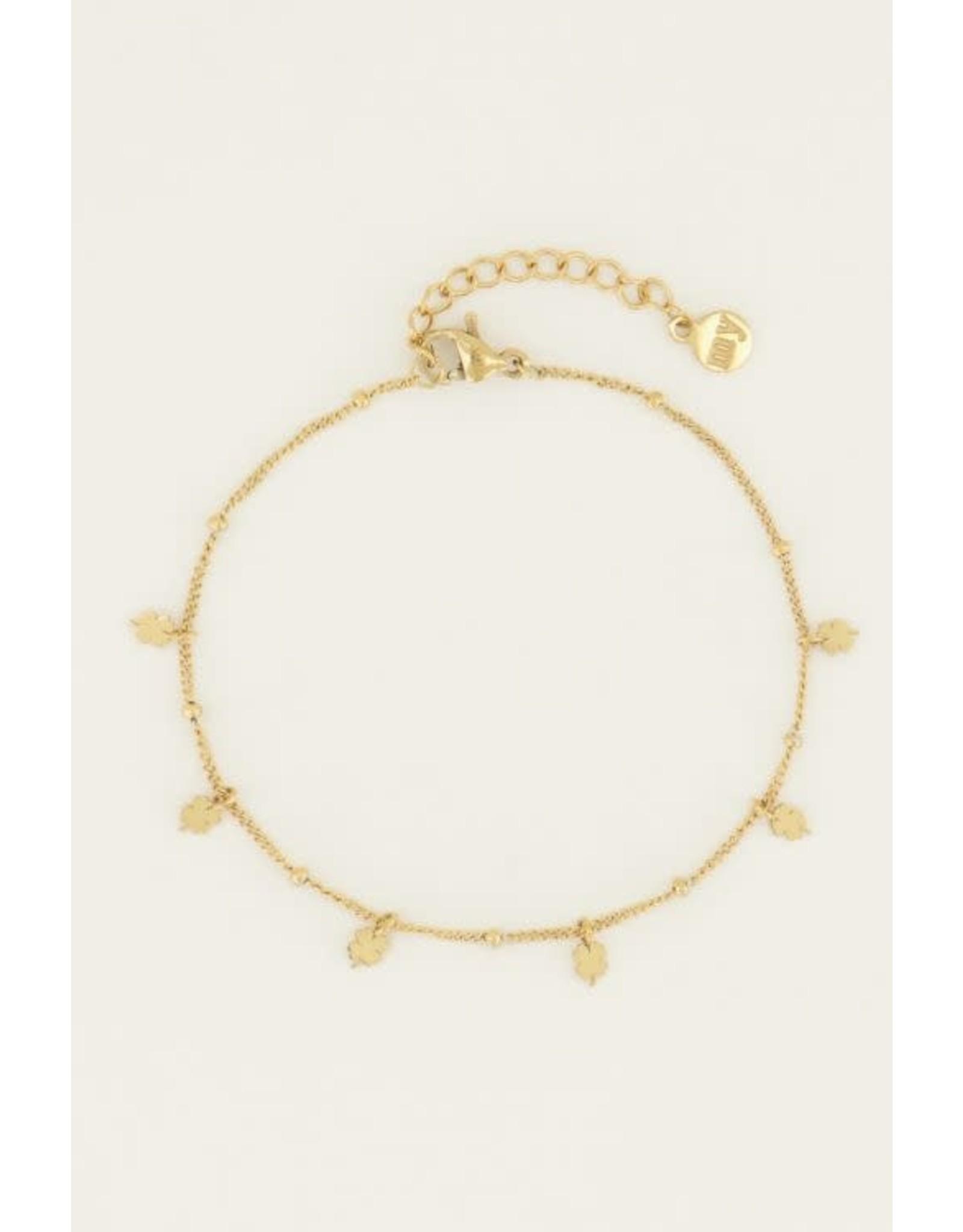 My Jewellery My Jewellery armband klavertjes