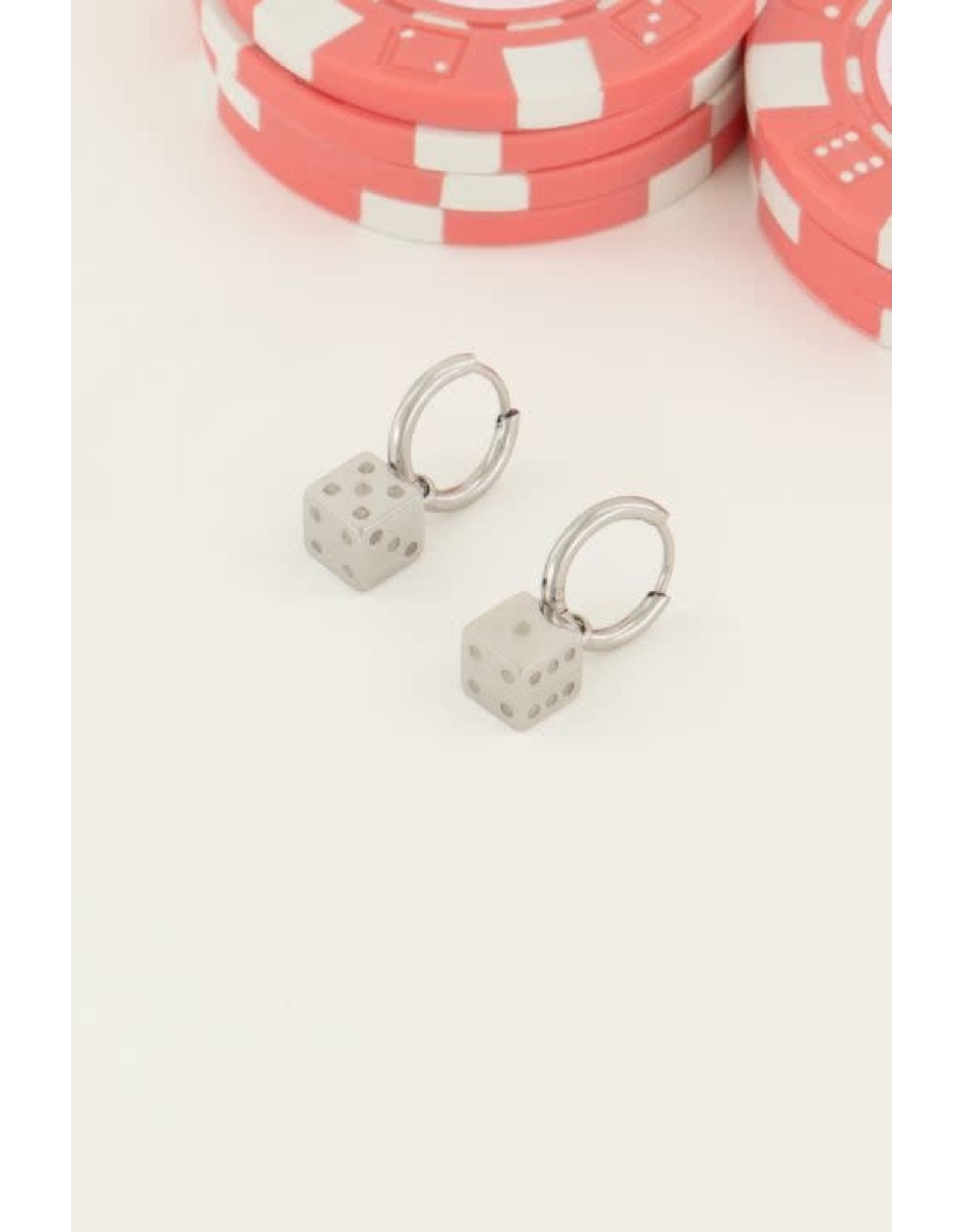 My Jewellery My Jewellery oorringen dobbelsteen