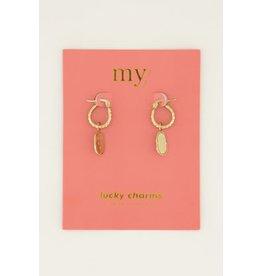 My Jewellery My Jewellery oorringen munt love