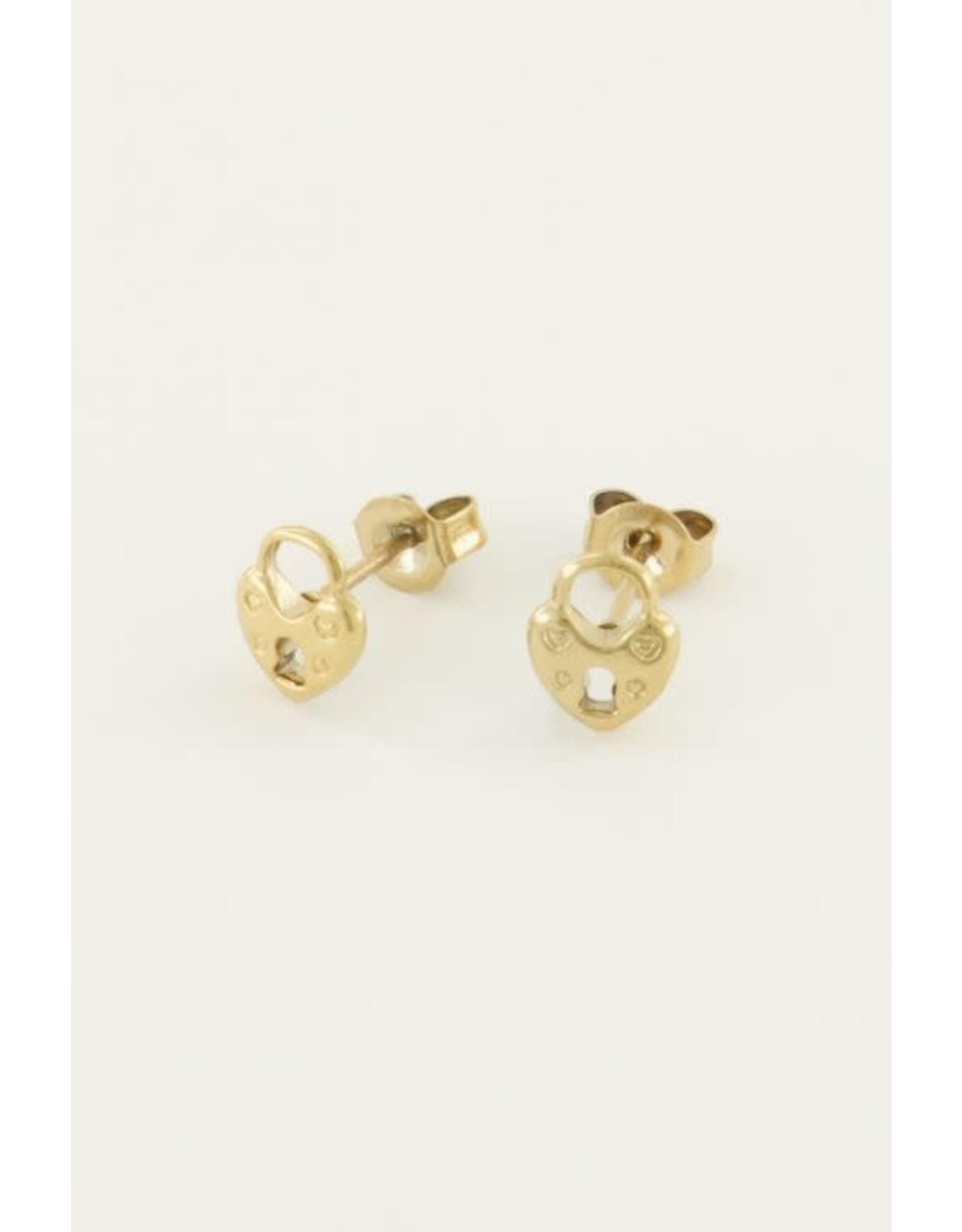 My Jewellery My Jewellery earstuds hartjes slot