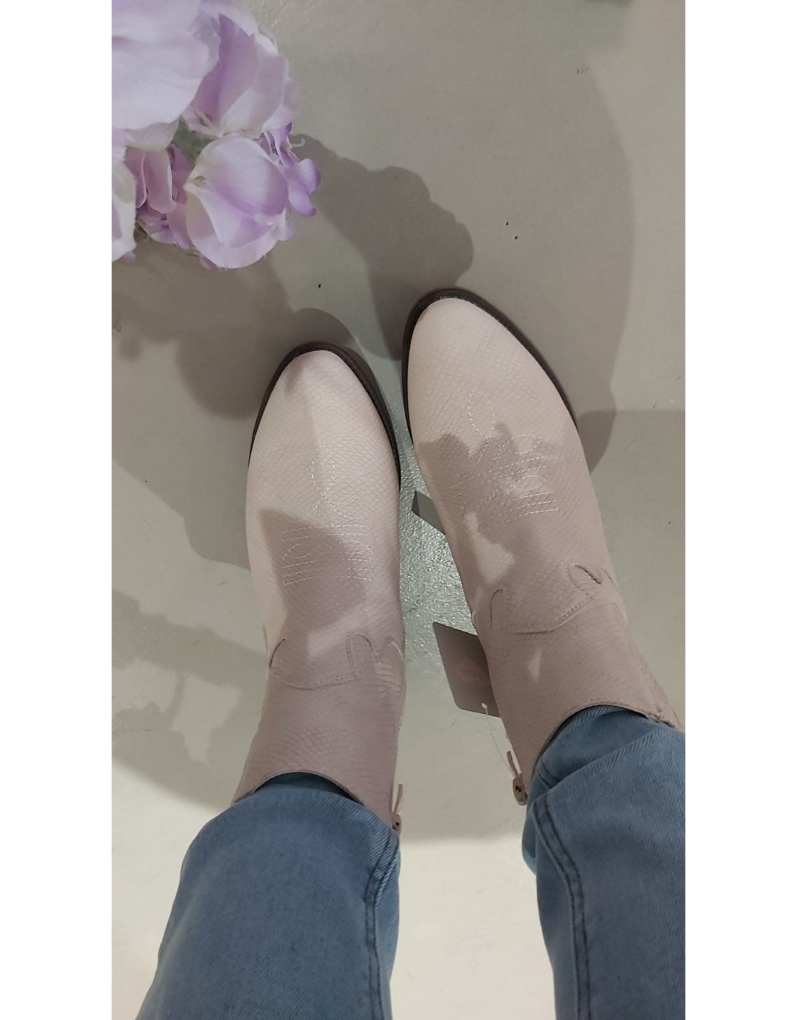 Fabs Shoes Fabs laarsjes beige