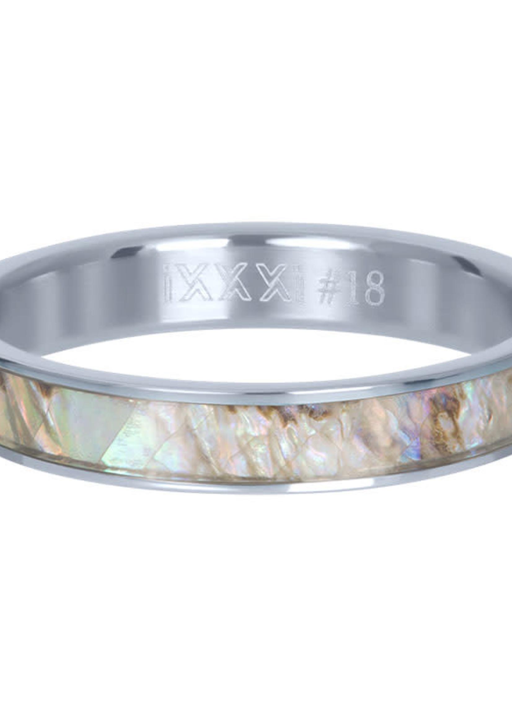 iXXXi ringen iXXXi Grey shell 4mm vulring