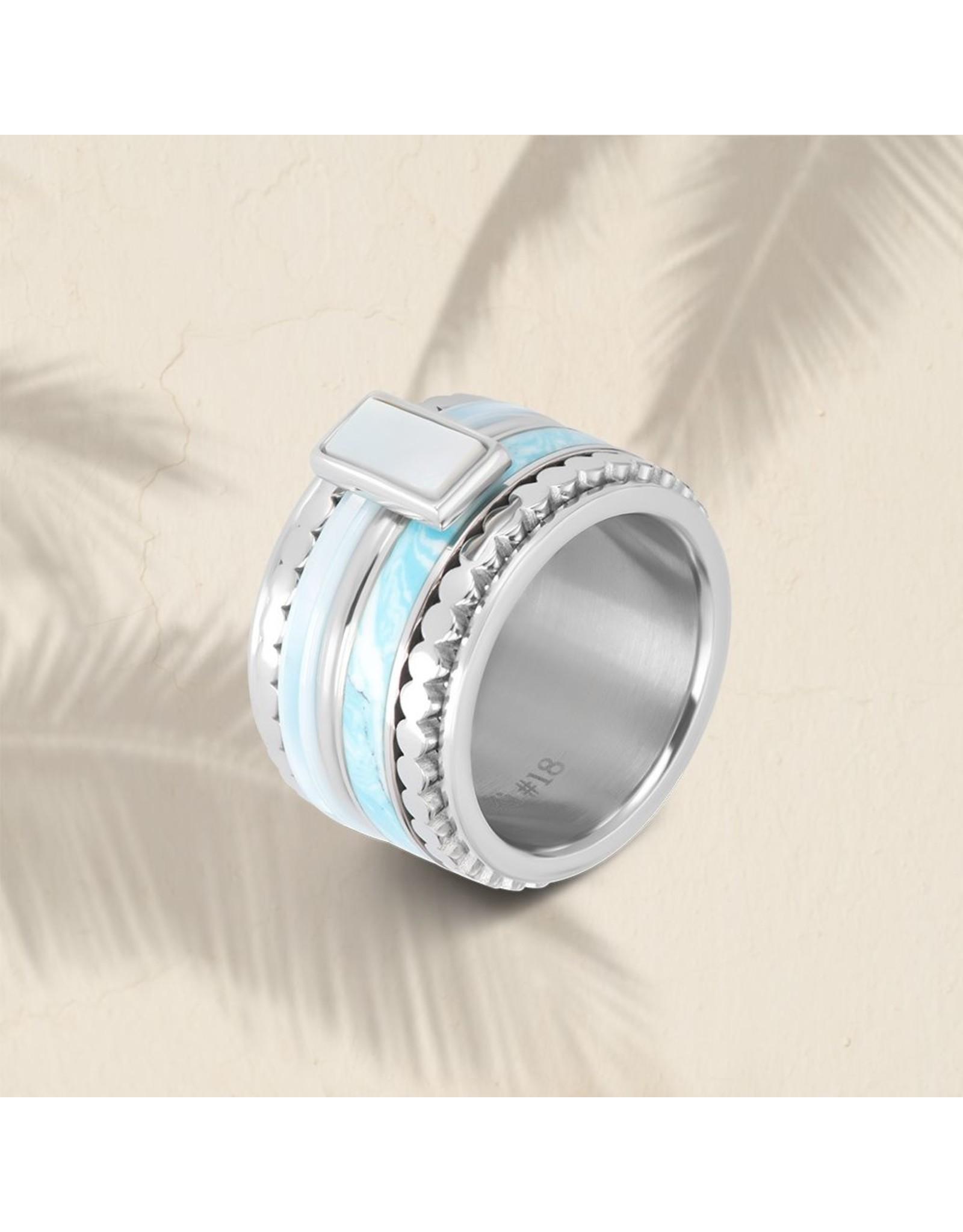 iXXXi ringen iXXXi blue paradise 4mm