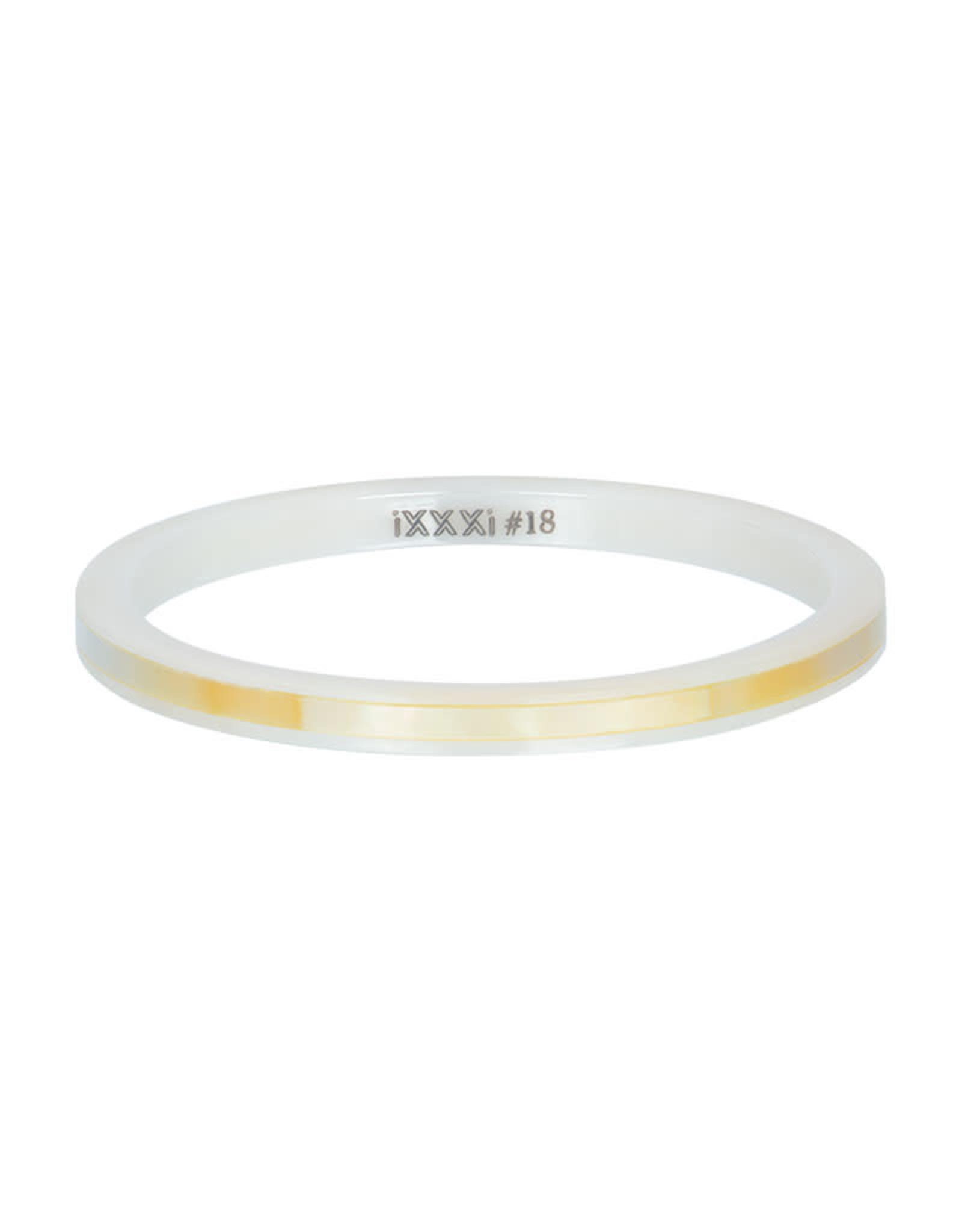 iXXXi ringen iXXXi ceramic yellow shell 2mm