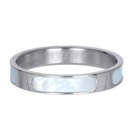 iXXXi ringen iXXXi vulring Aruba zilver 4mm