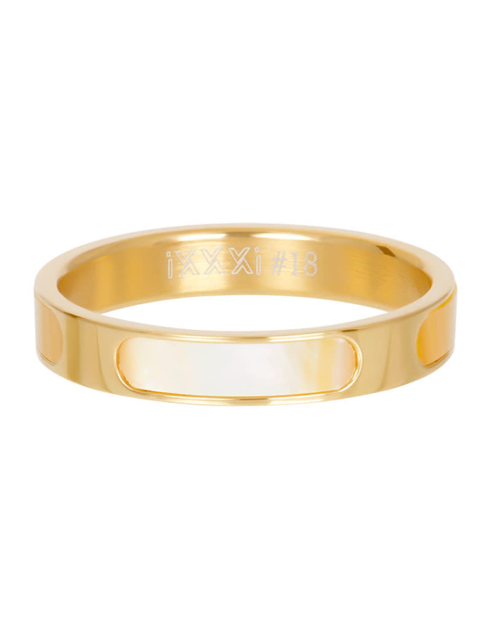 iXXXi ringen iXXXi vulring Aruba goud 4mm