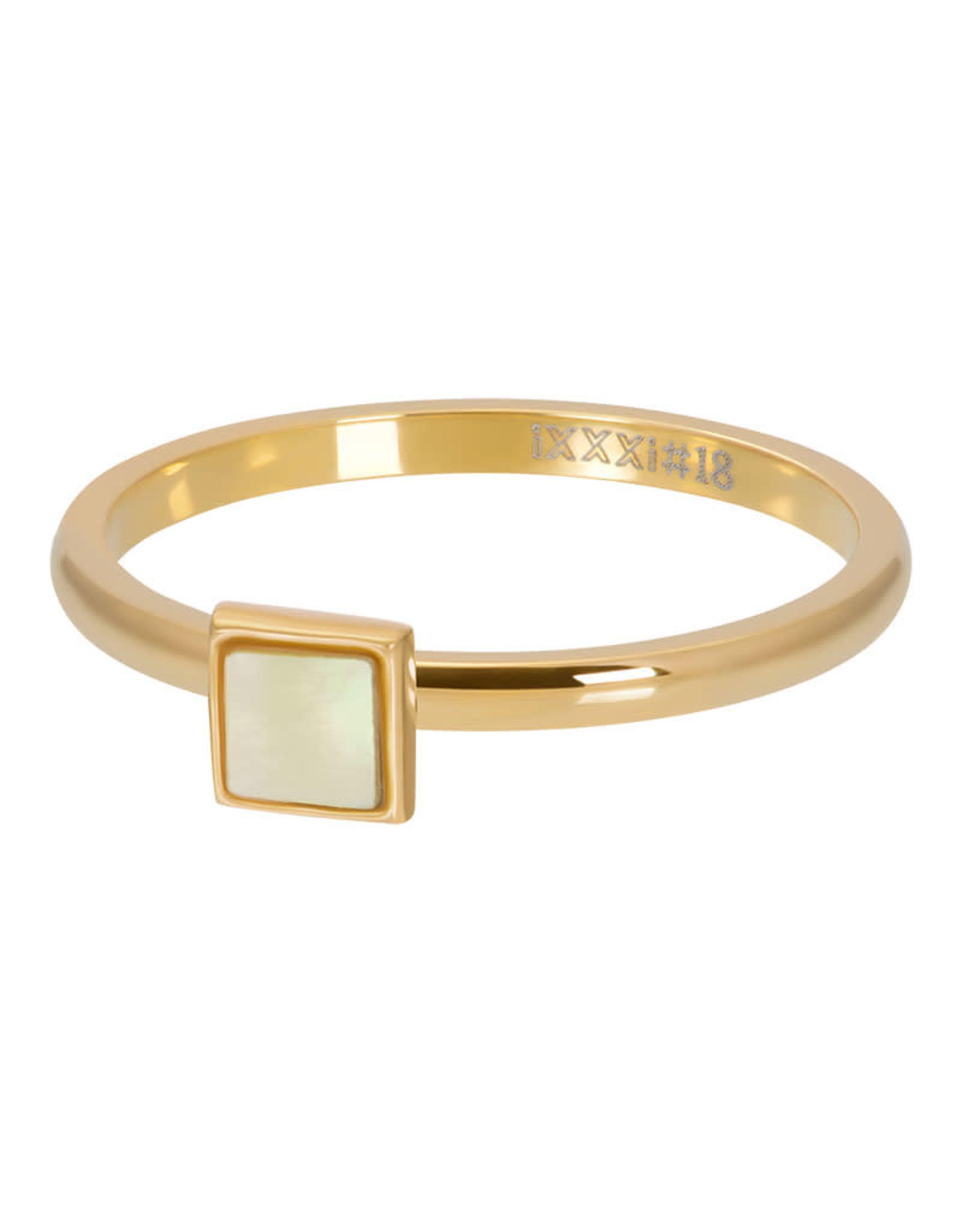 iXXXi ringen iXXXi Vulring Square schelp - 3 kleuren