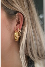 Zag Bijoux ZAG oorringen breed