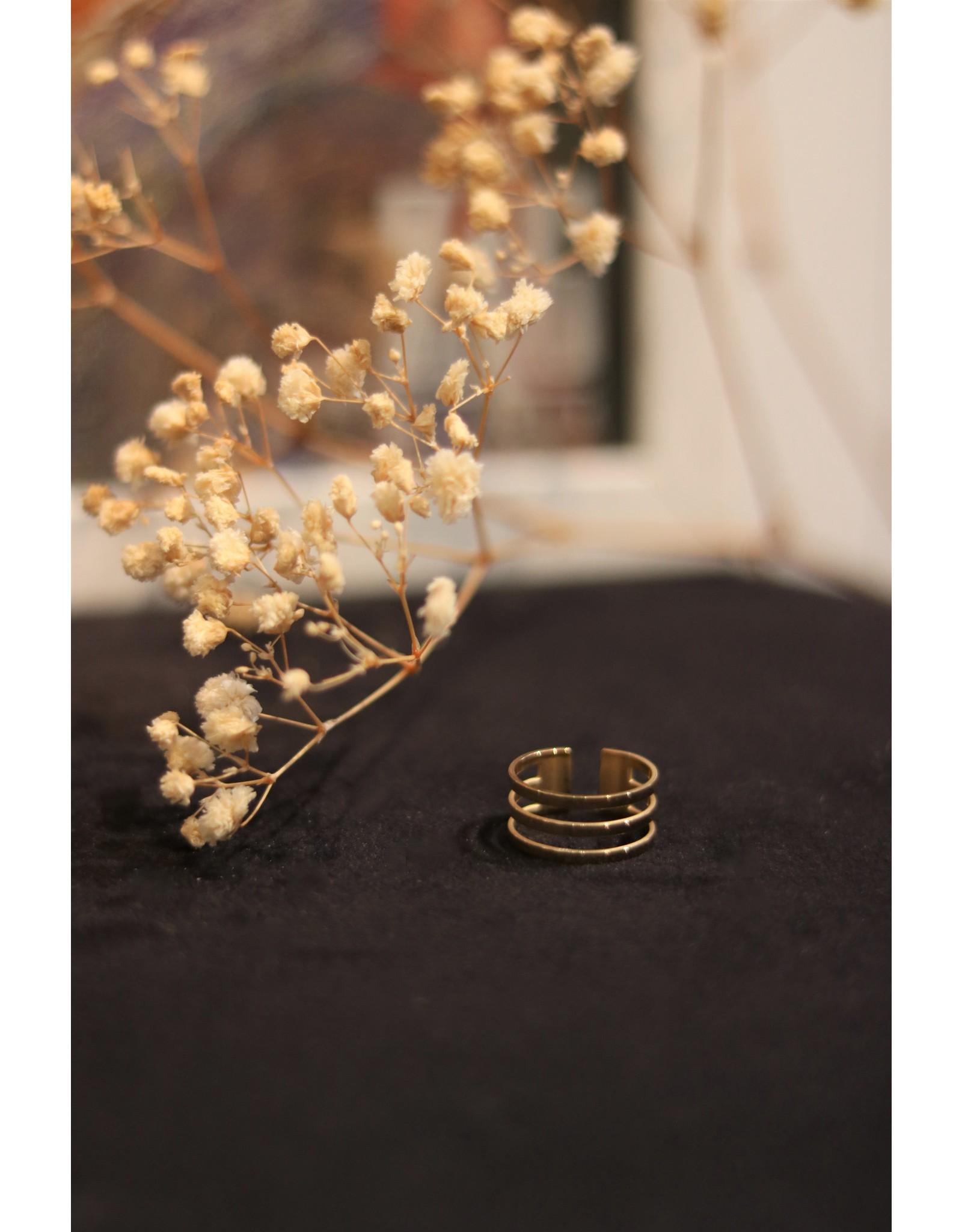 Zag Bijoux ZAG drie dubbele ring